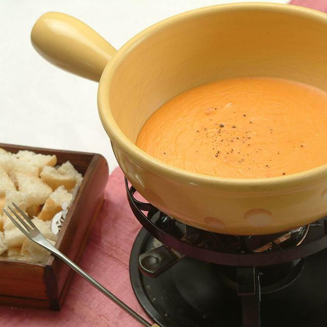 Tomato-Cheese Fondue