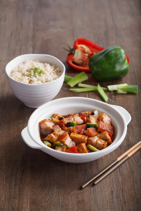 Tofu Roasted Pork w/ Black Beans