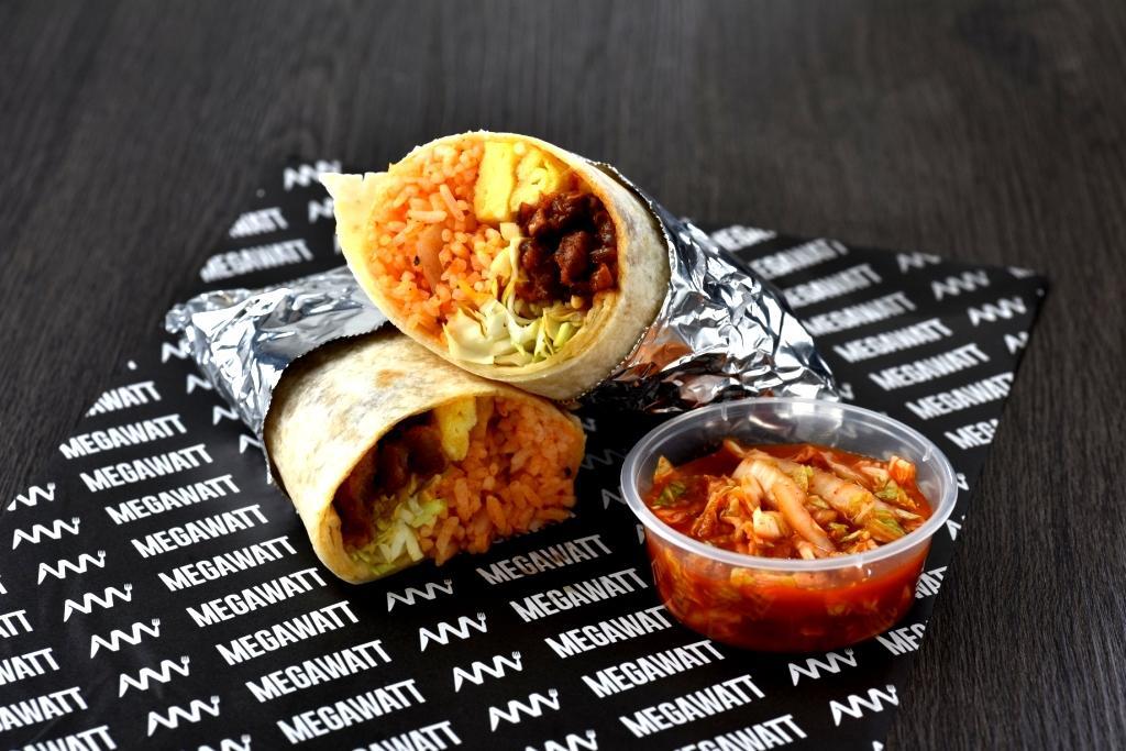 Pork Kimchi Burrito