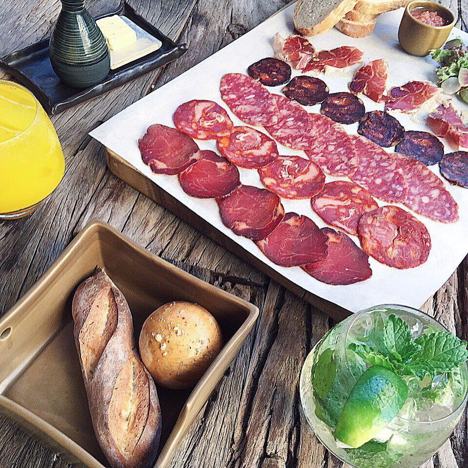 The Black Pig Charcuterie Board