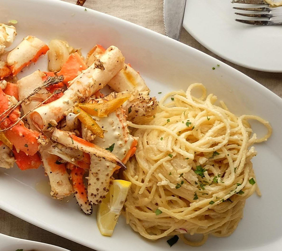 Roasted King Crab Legs