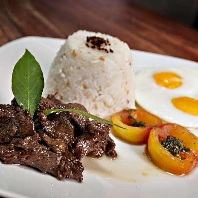 New Zealand Beef Tapa