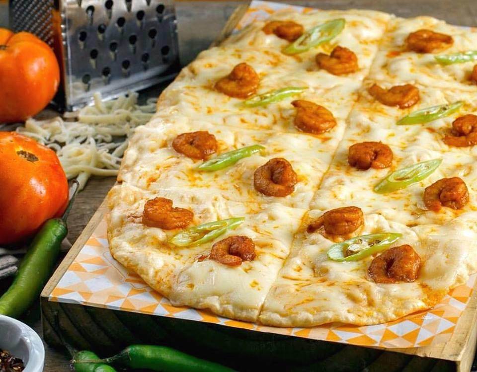 Gambas Pizza