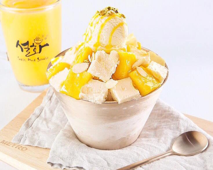 Mango Cheese Bing Su