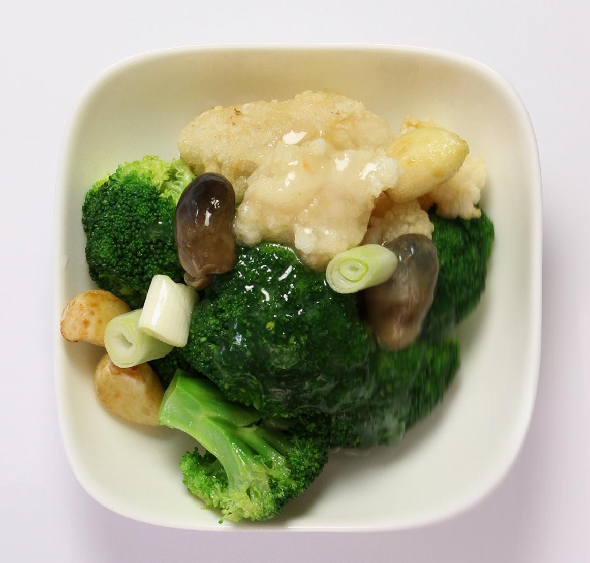 Broccoli Flower with Garlic