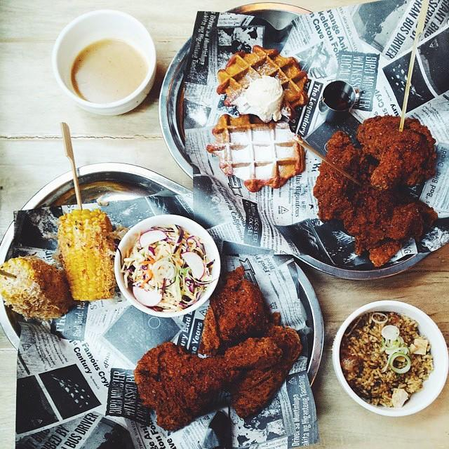 Umami Fried Chicken Plates