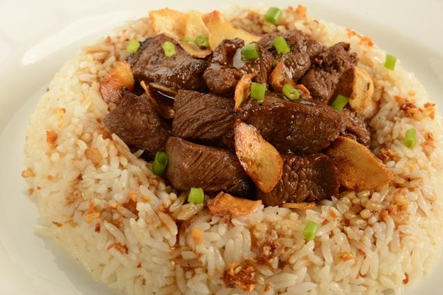 Salpicao Rice