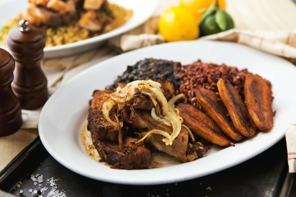 Roast Pork & Chicken