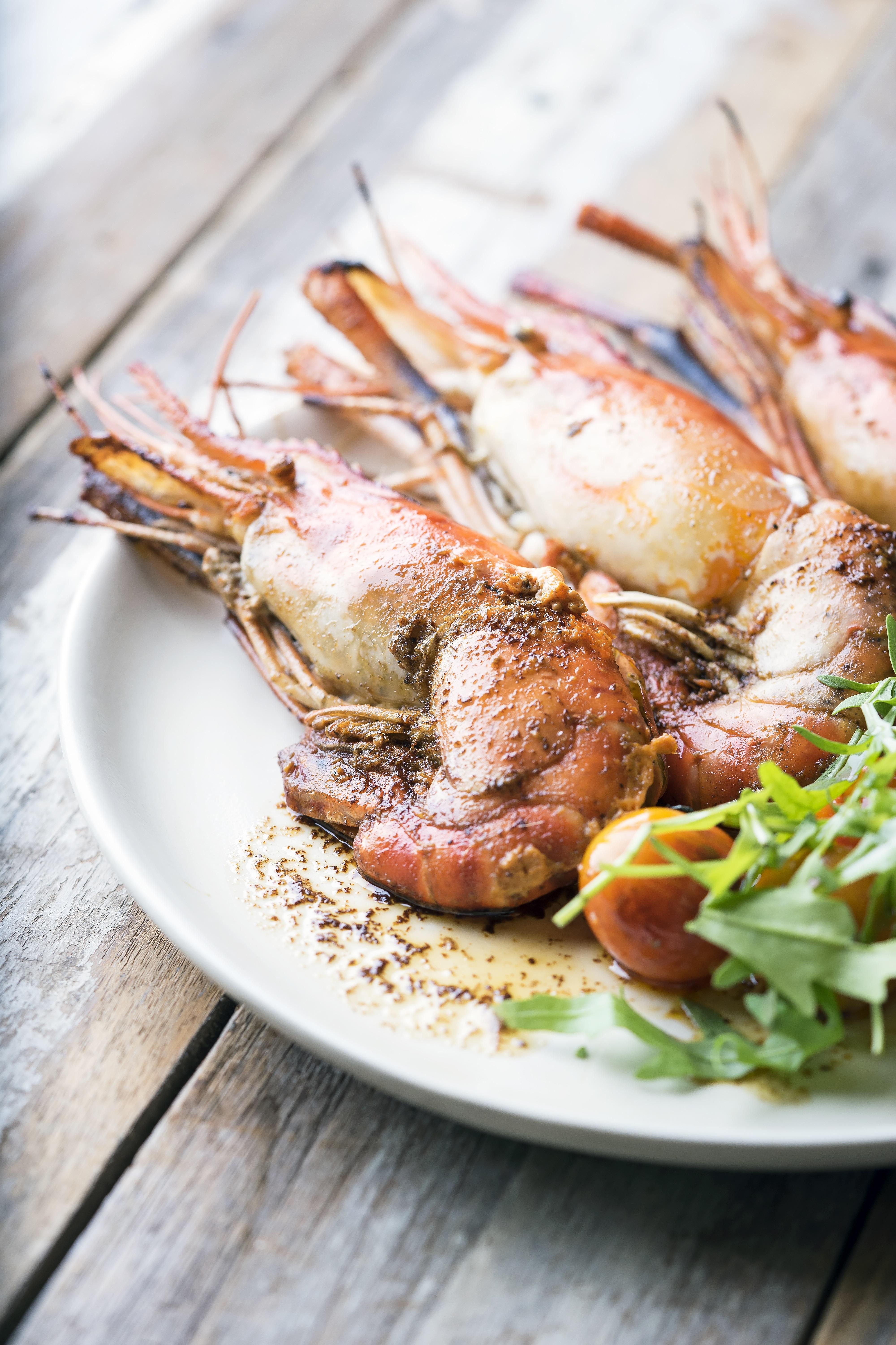 River Prawns & Anchovy-Butter
