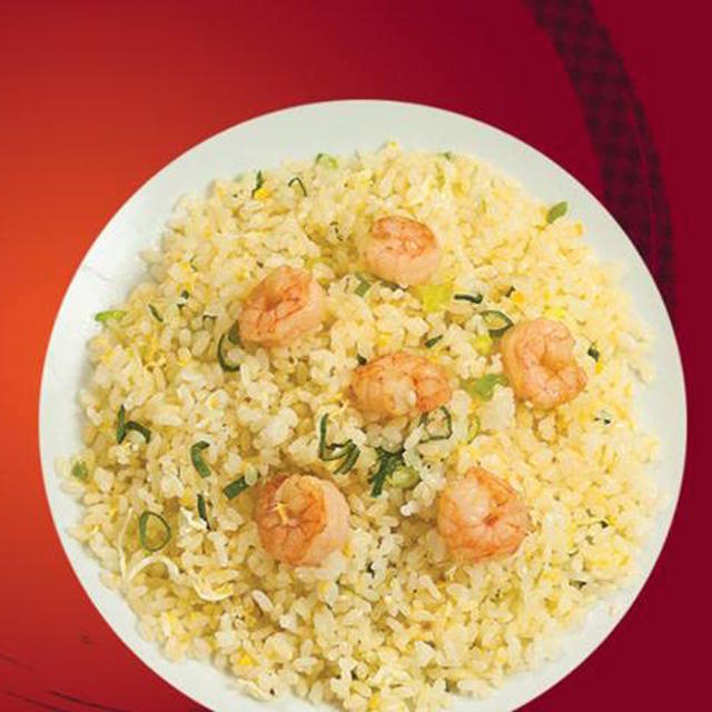 Fried Rice with Shrimp and Egg