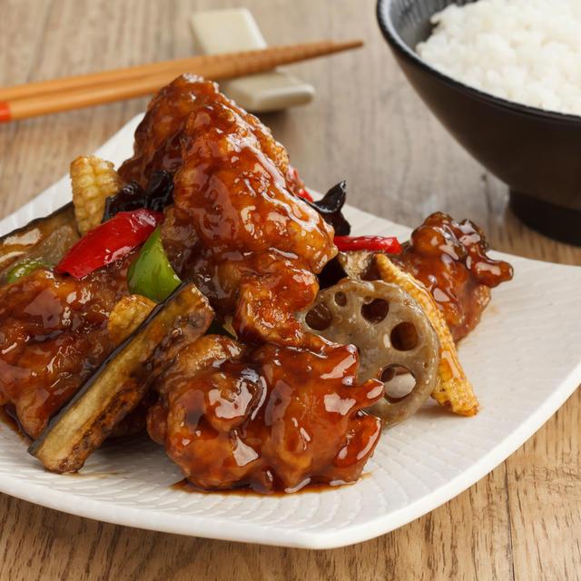 Black Vinegar Chicken