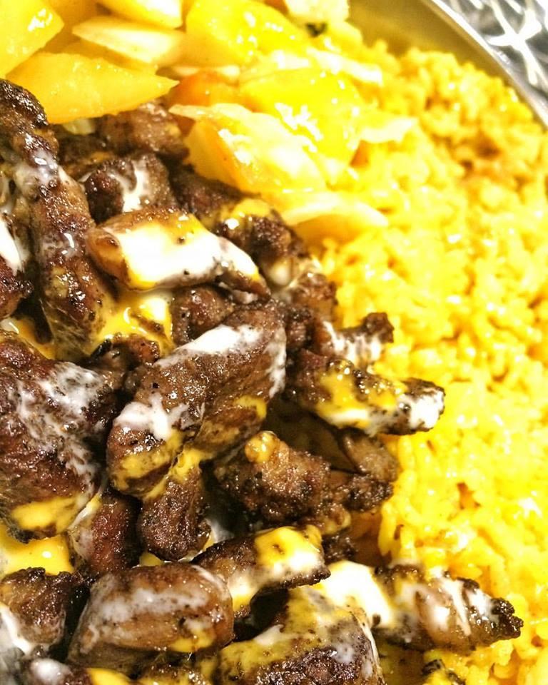 Lamb Steak Rice Meal