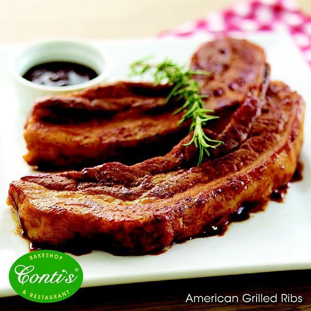 American Grilled Ribs