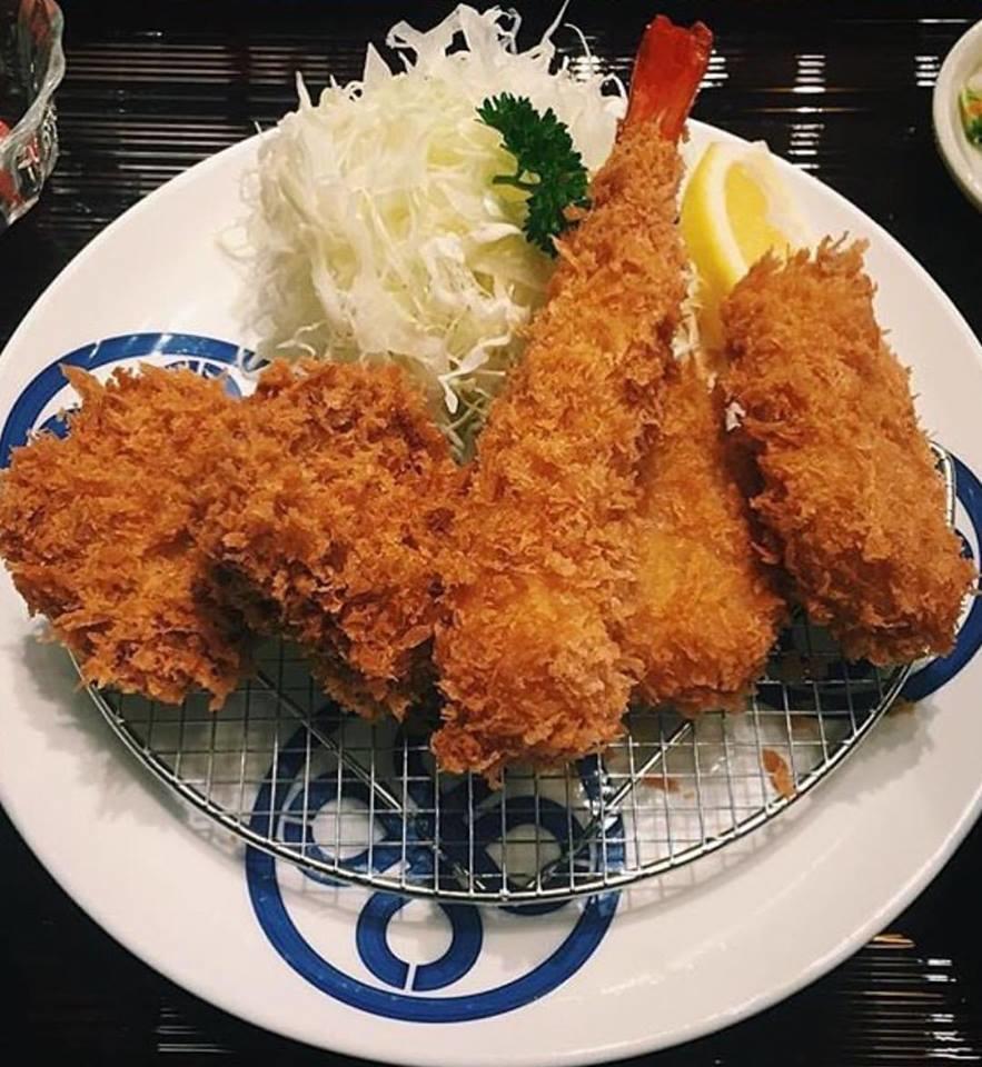 Seafood Katsu Set