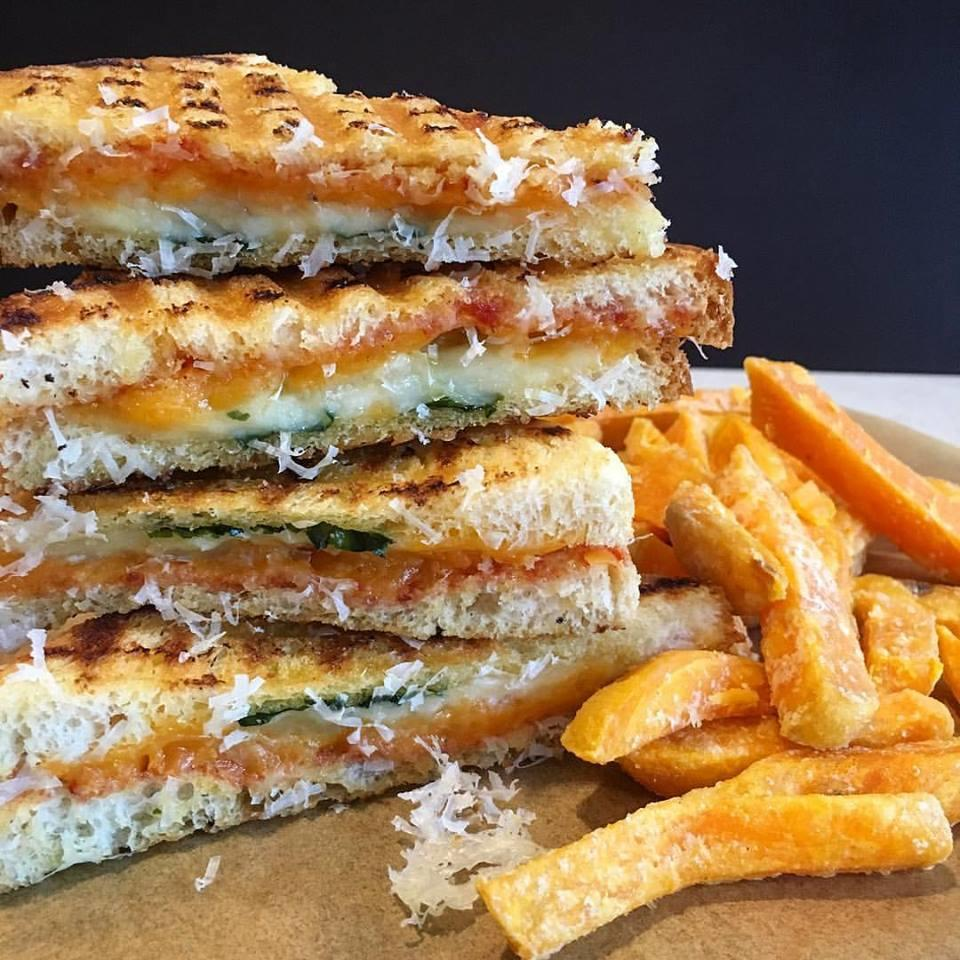 Kettle Grilled Four Cheese