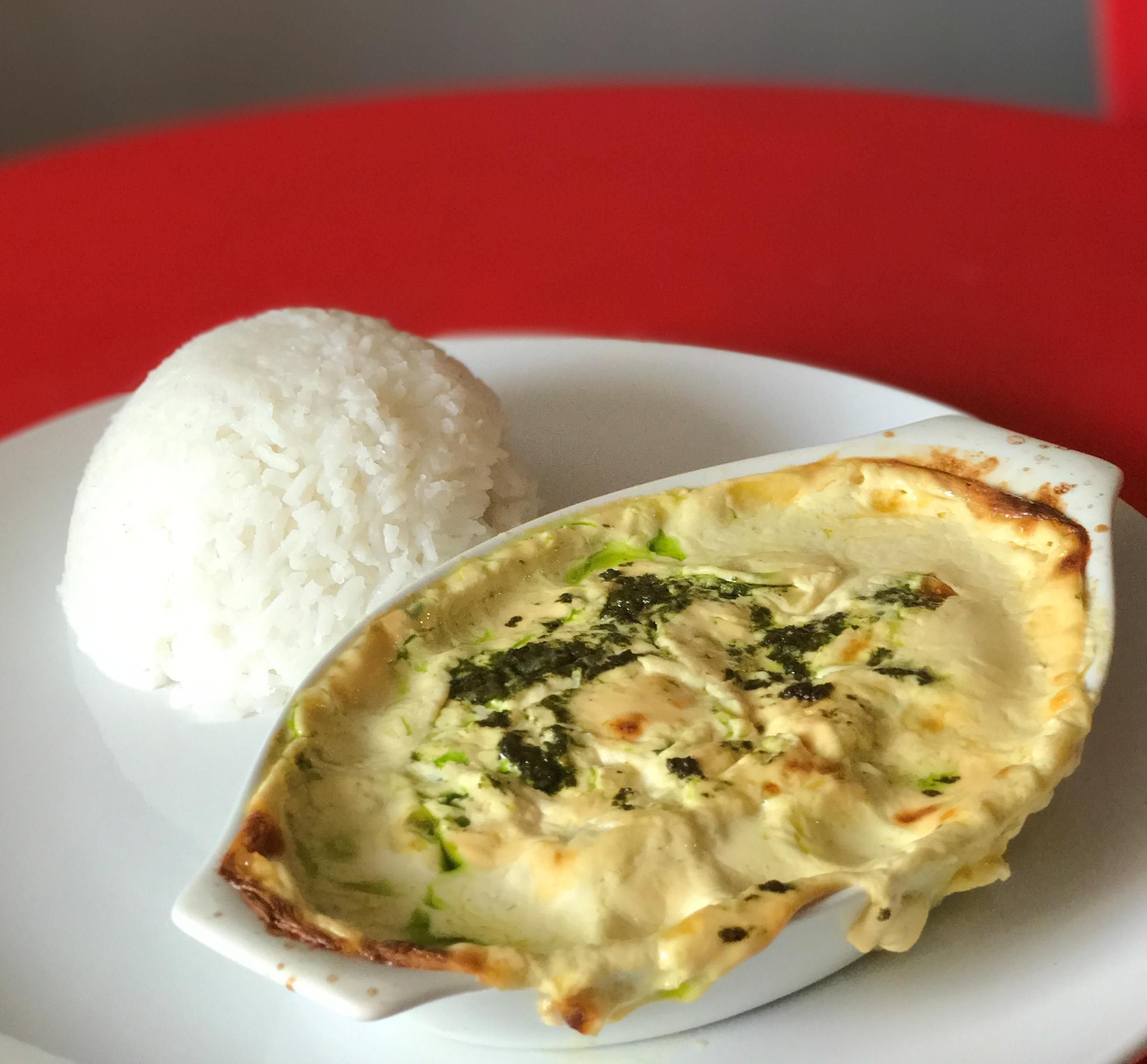 Baked Dory with Cheesy Pesto