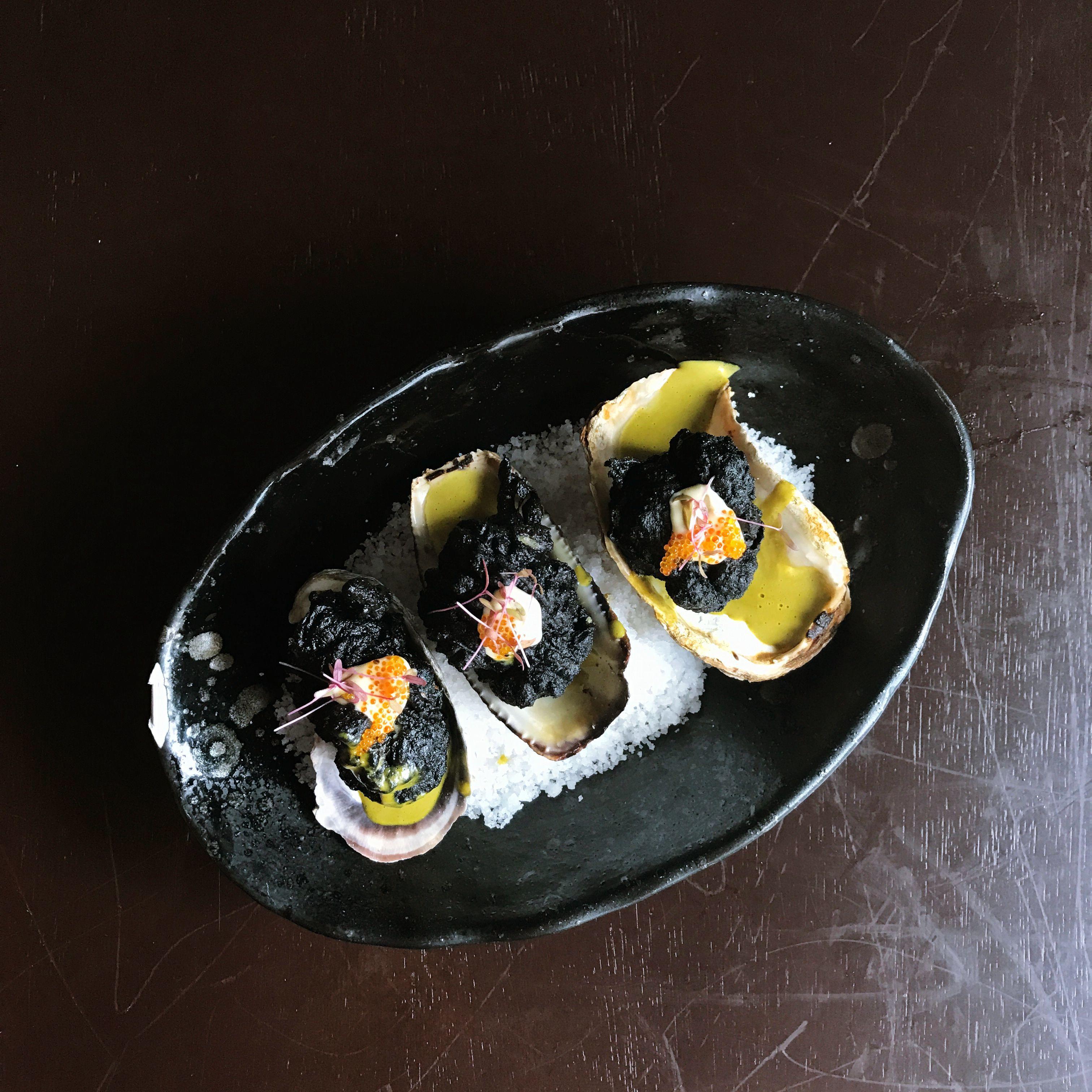 Black Oyster Tempura