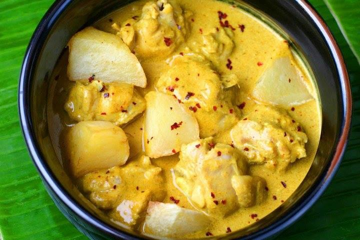 Malayan Chicken Curry with Potatoes