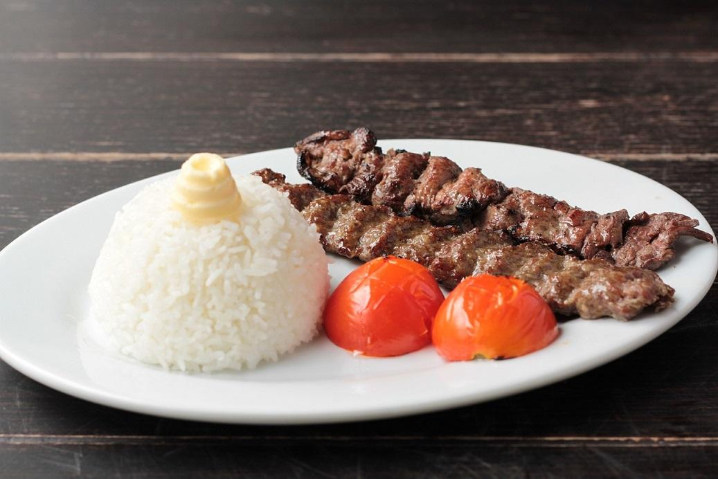 Beef Special Chelo Kabab