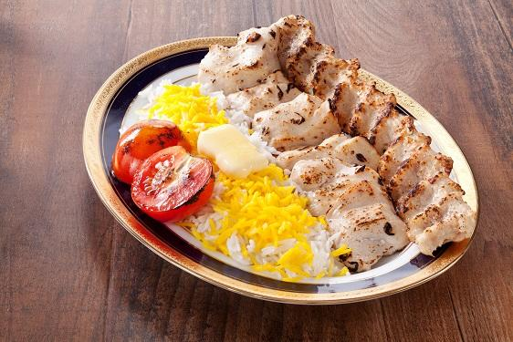 Chicken Special Chelo Kabab