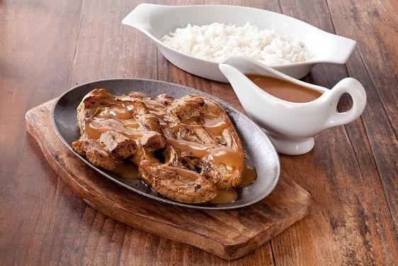 Sizzling Lamb Chop