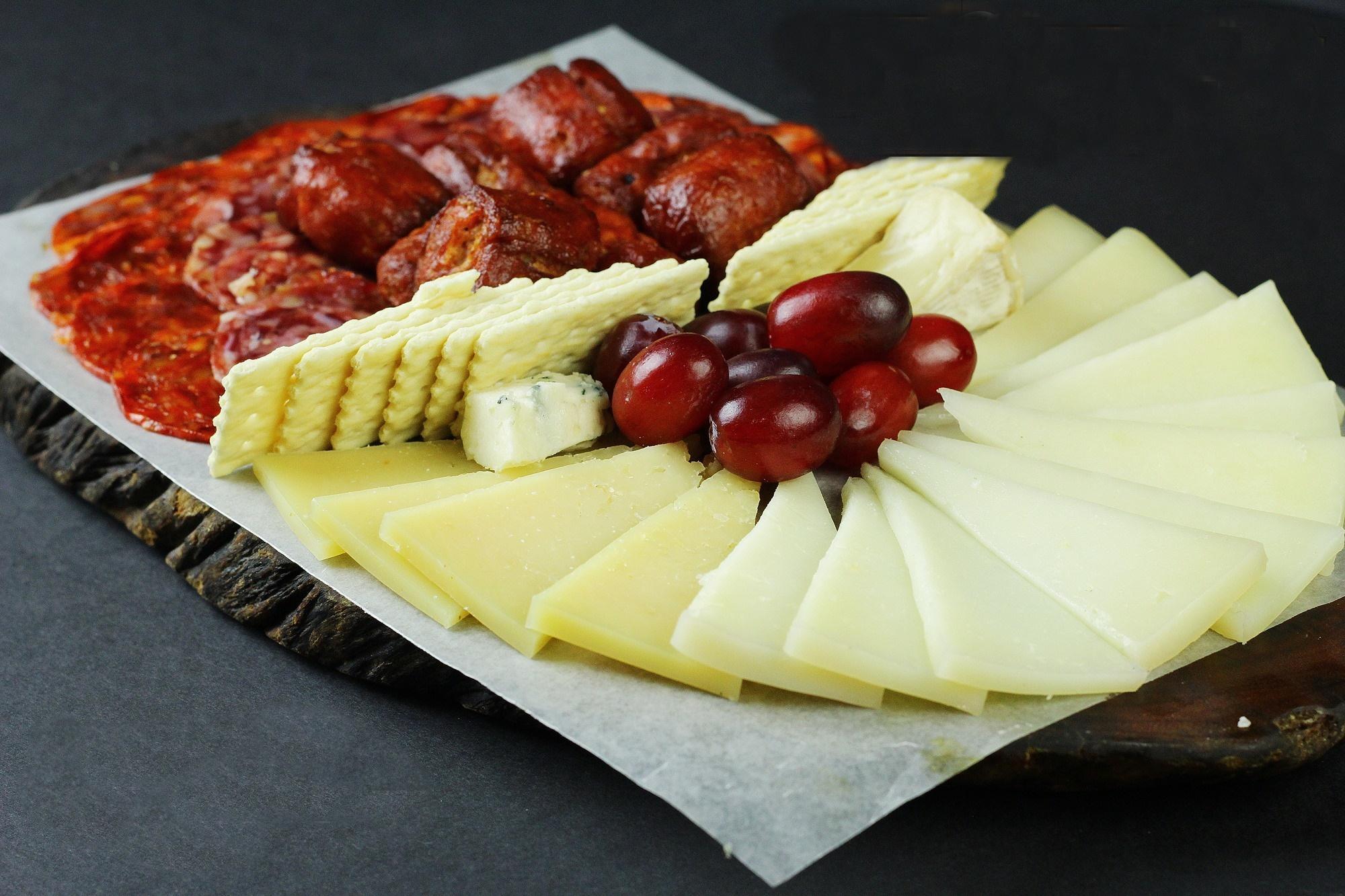 Chorizo and Cheese Platter