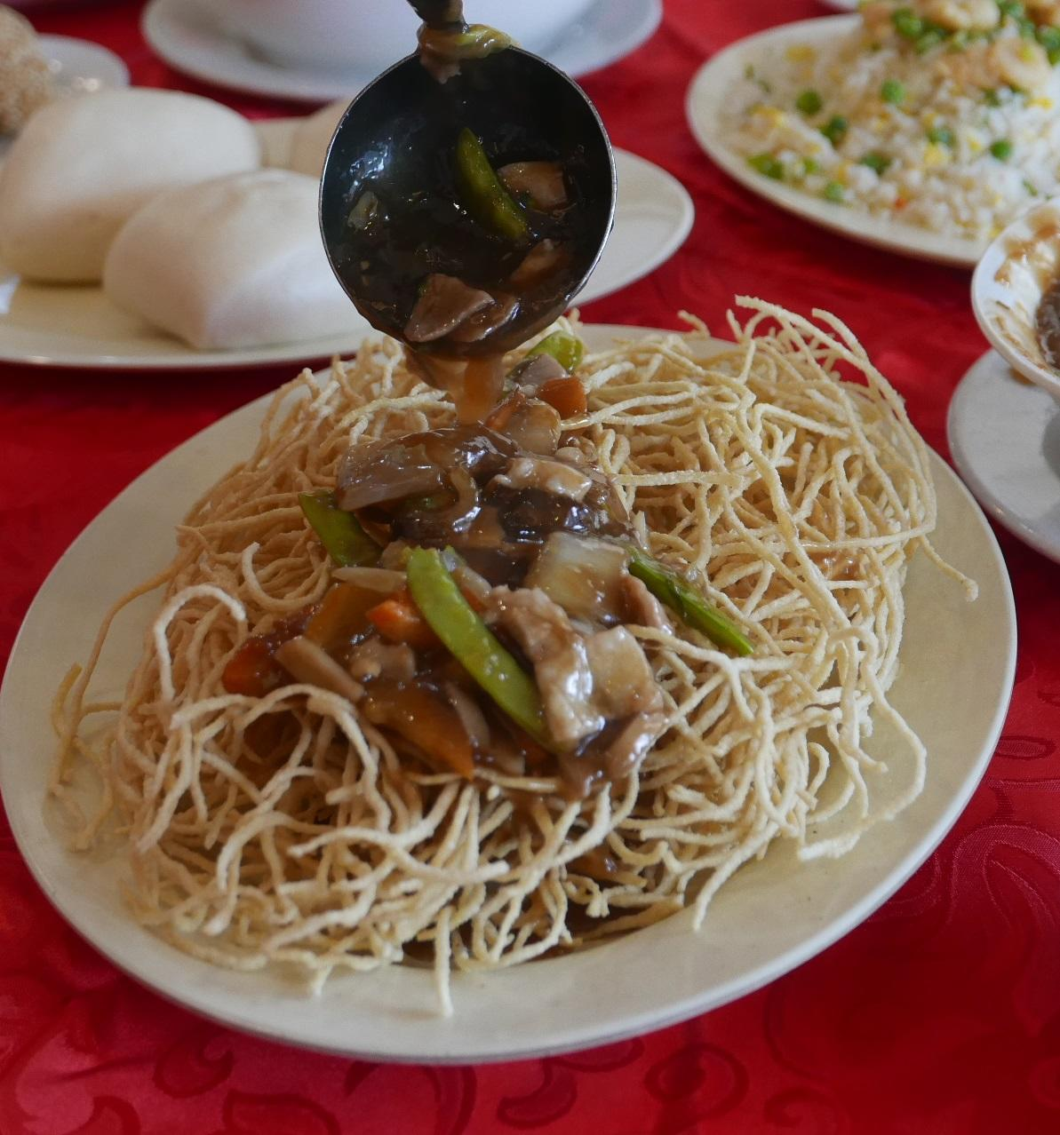 Crispy Noodles with Assorted Delicacies