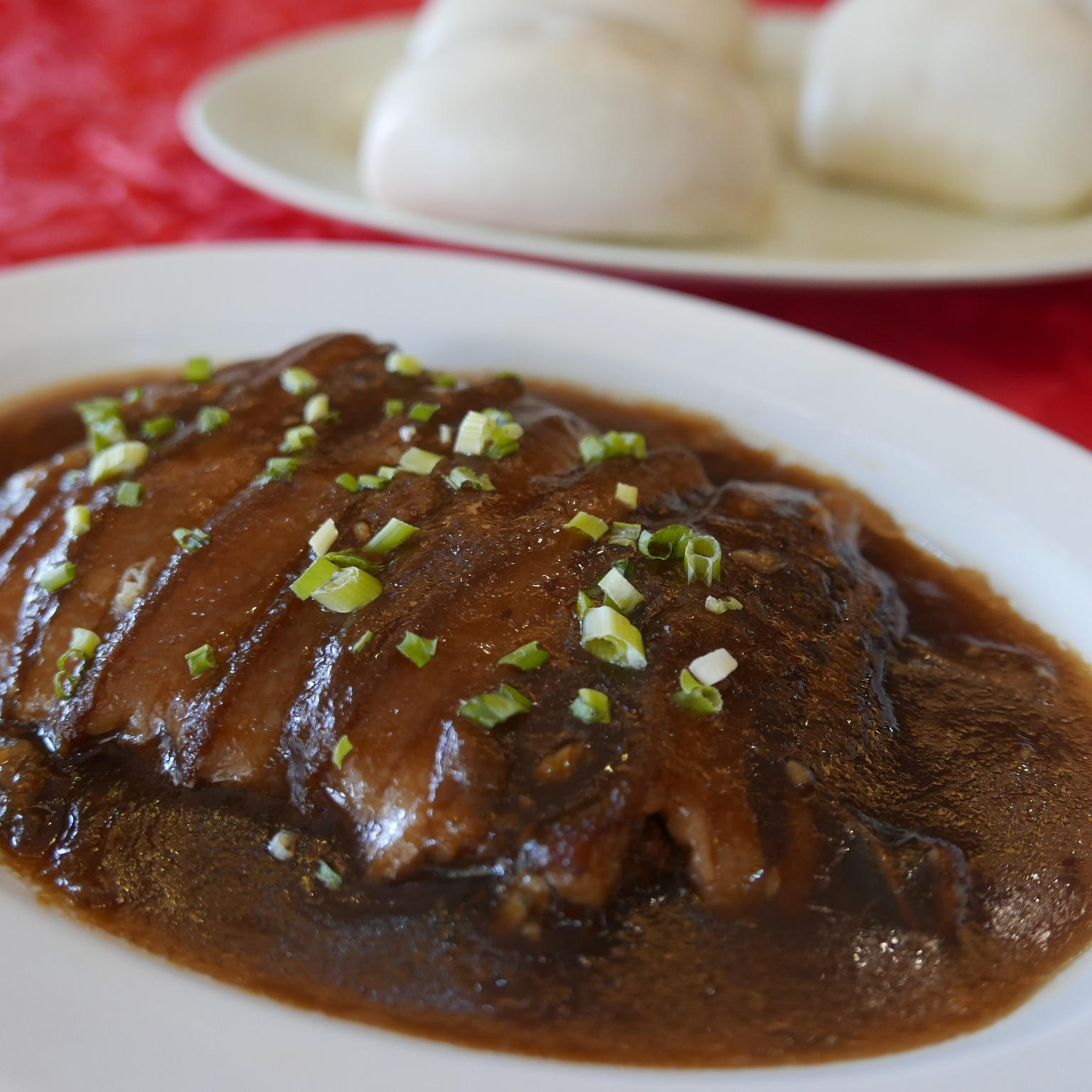 "Pork in Brown Sauce ""Hong Ma"""