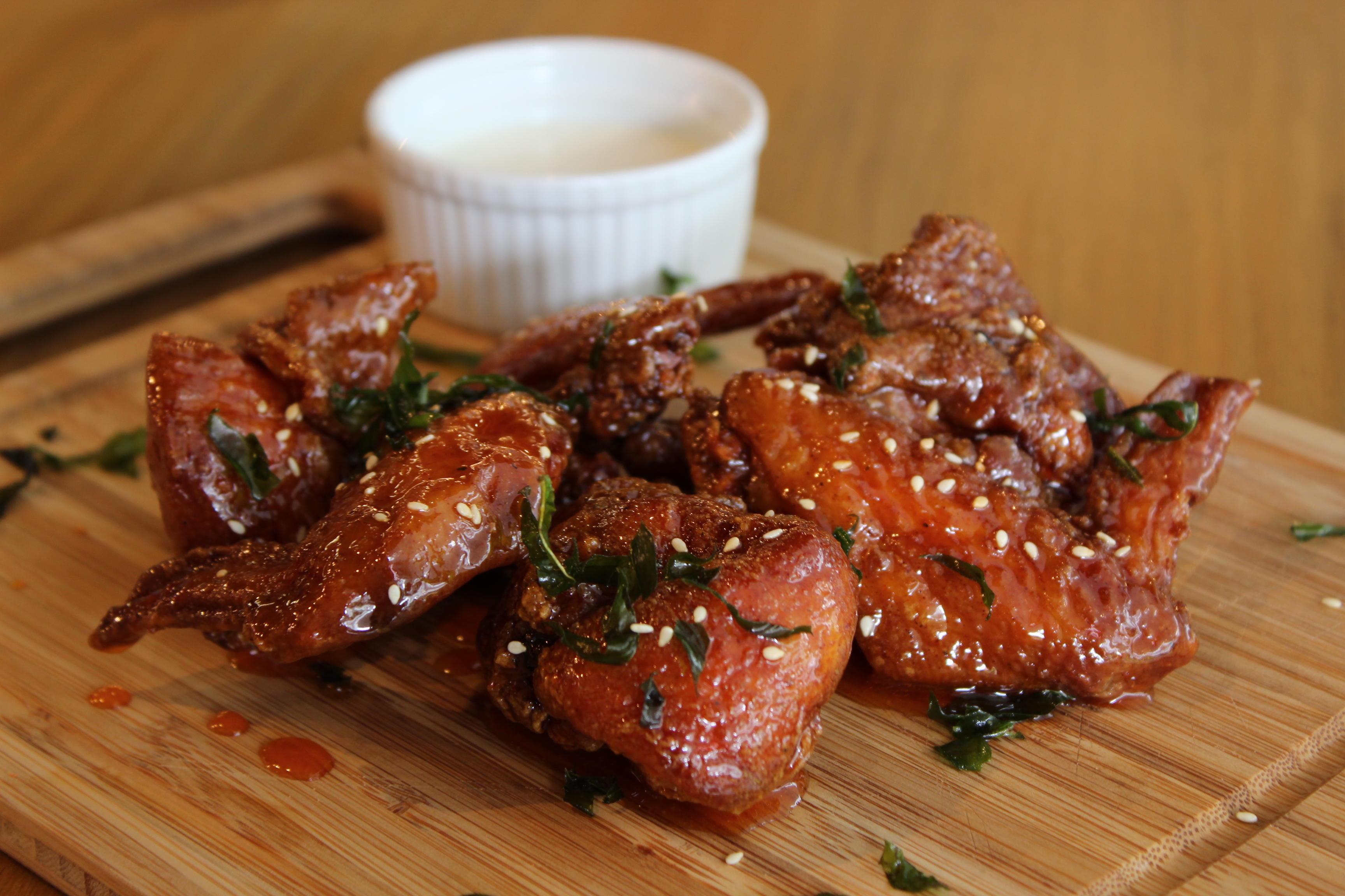 Sweet & Spicy Wings