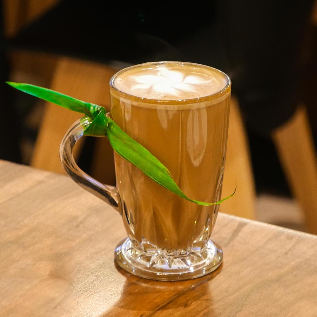 Pandan Latik Latte