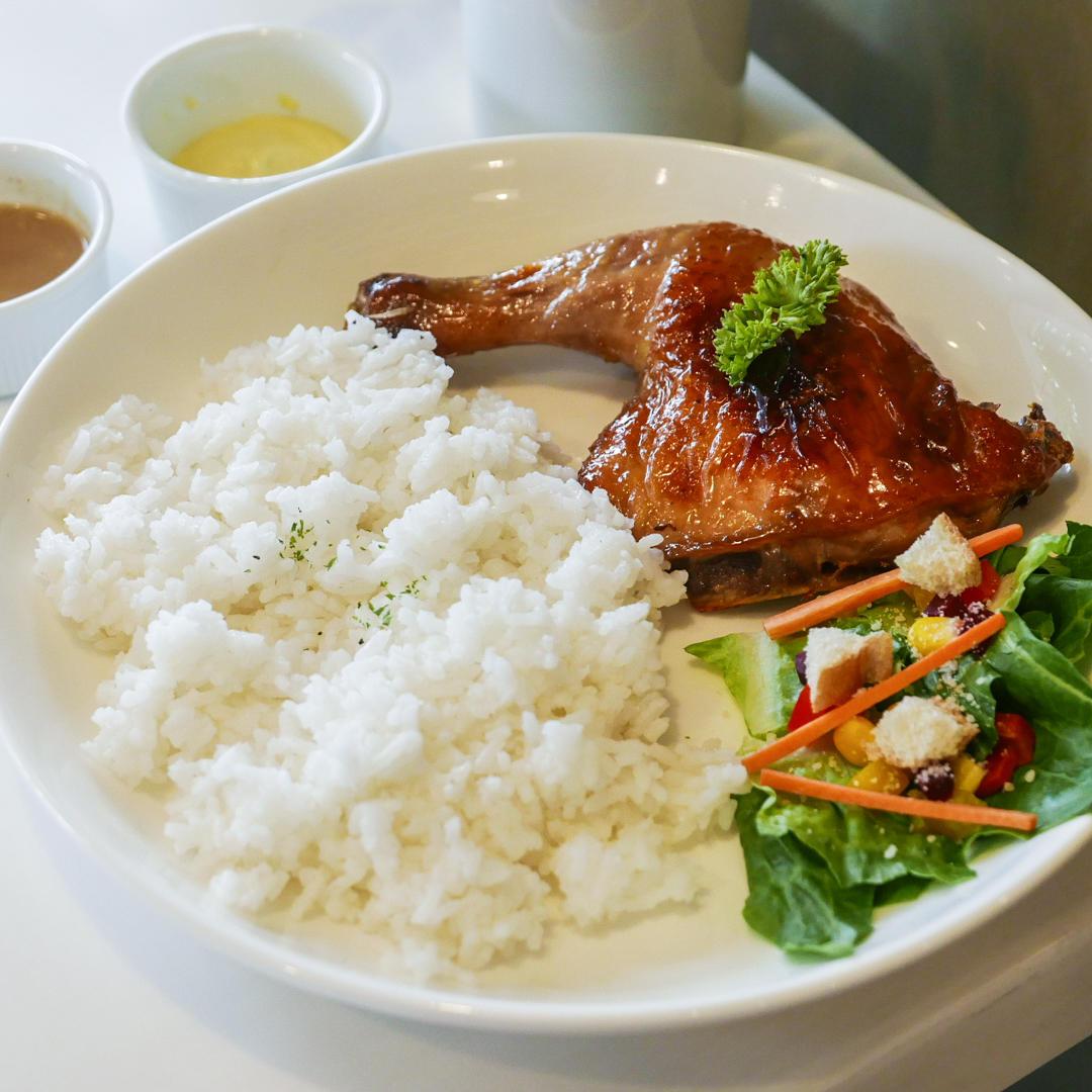 Autumn Roast Chicken Rice