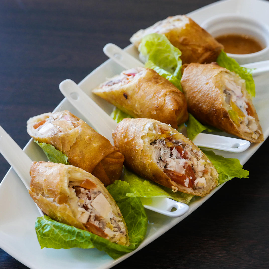 Tinapa Roll Wrapped with Lettuce
