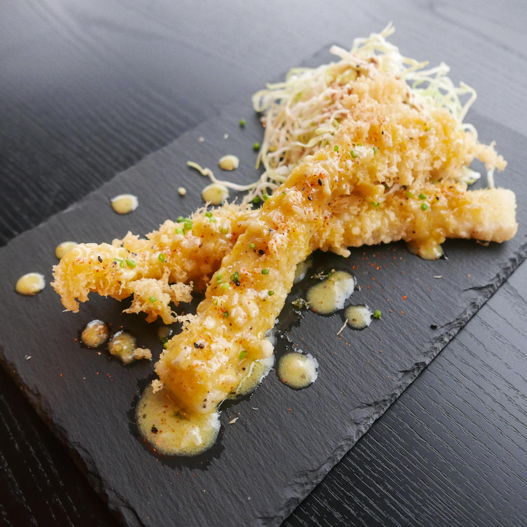 Smoked Halibut Tempura