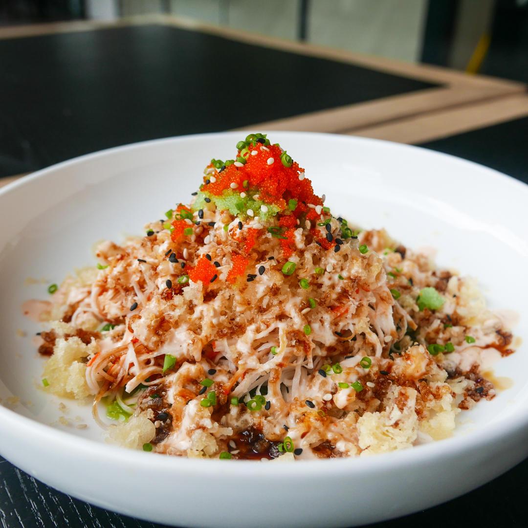 Seaweed Kani Salad