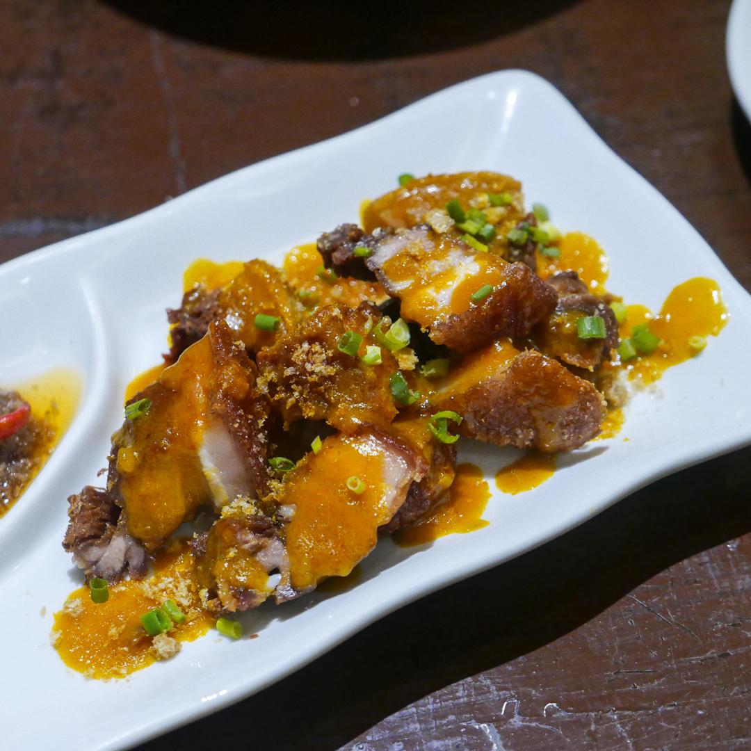 Crispy Pork Binagoongan
