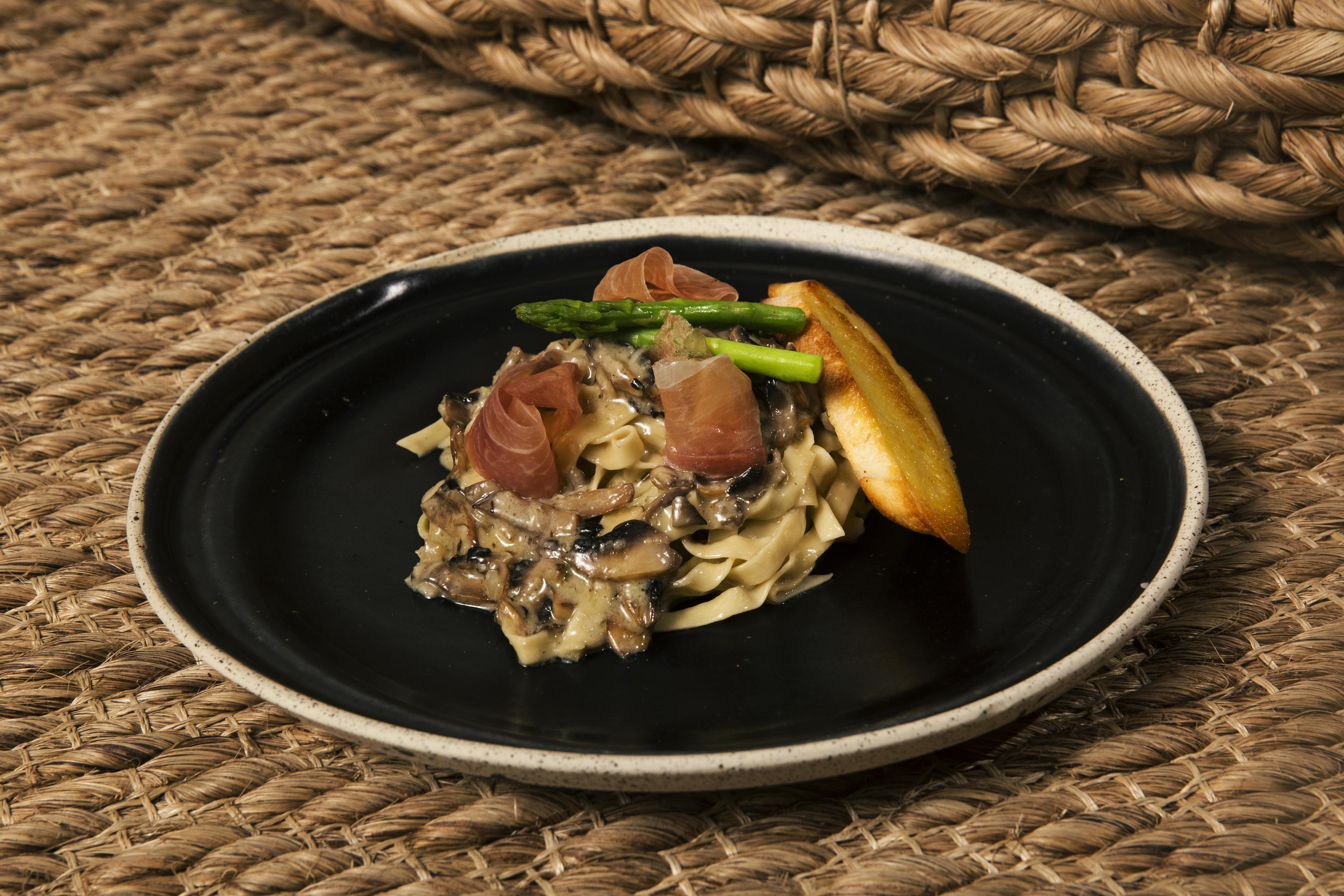Mushroom Truffle Pasta