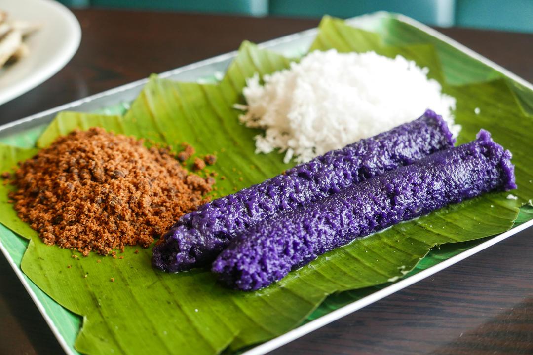 Puto Bumbong - Freshly Cooked