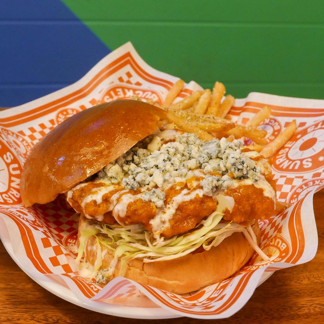Buffalo Bleu Burger