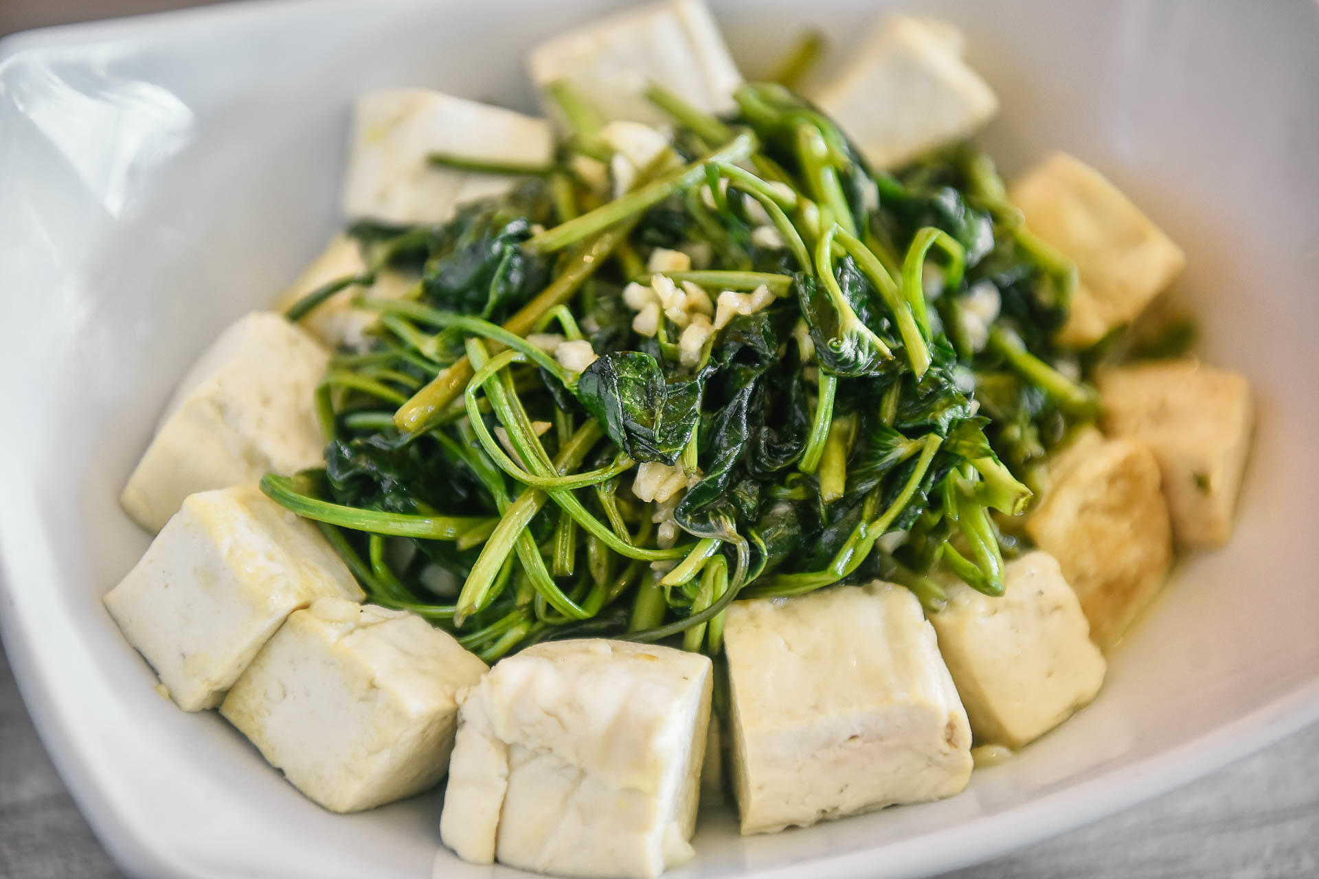 Garlic Kangkong