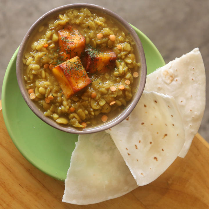 Hearty Indian Lunch