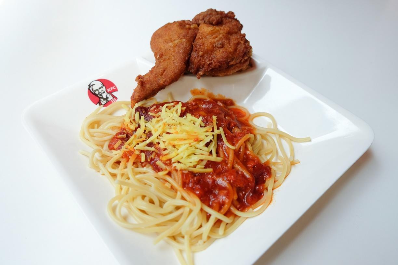 A4 1pc Chicken & Spaghetti