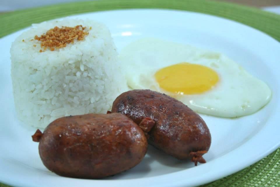 Special Cabanatuan Longganisa w/ egg