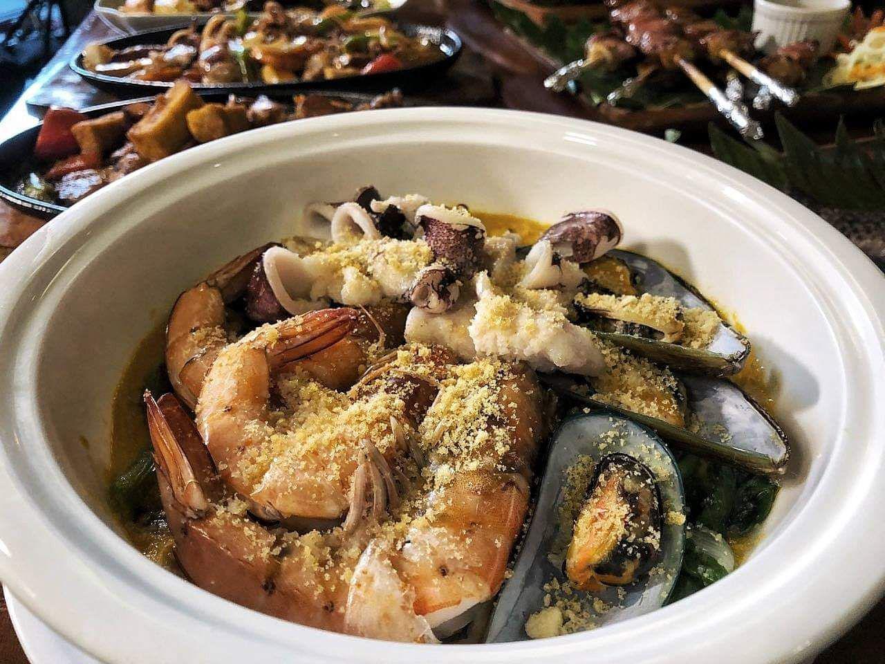 Ginataan Seafood