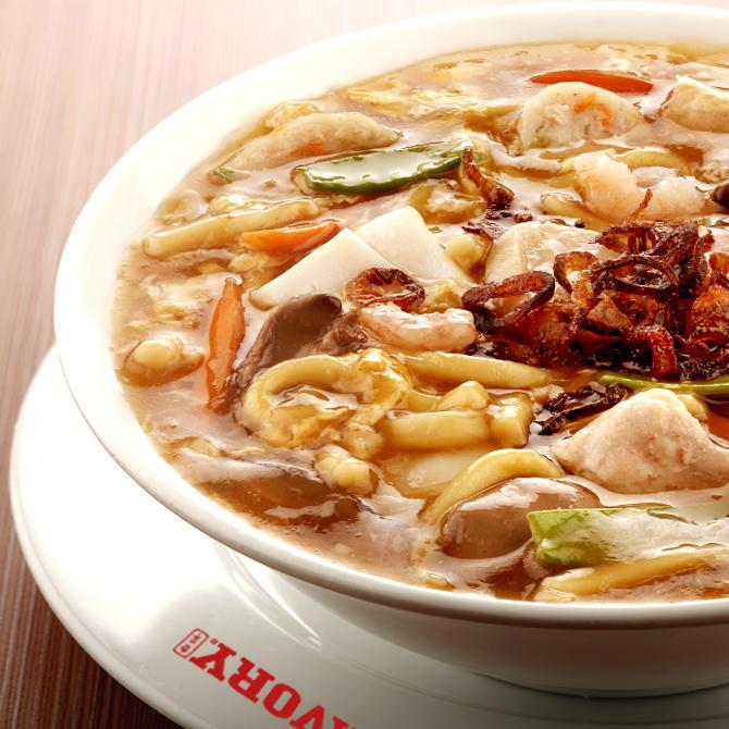 Savory Classic Lomi Soup
