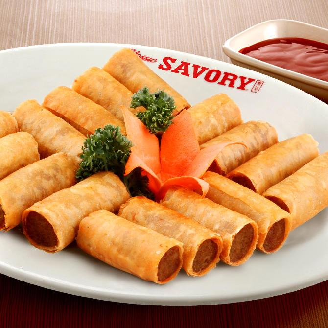 Savory Shanghai Rolls