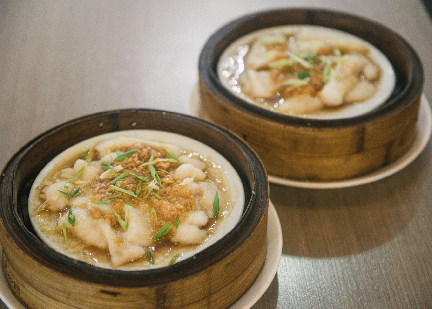 Steamed Fish Fillet with Garlic Sauce or Taosi Sauce