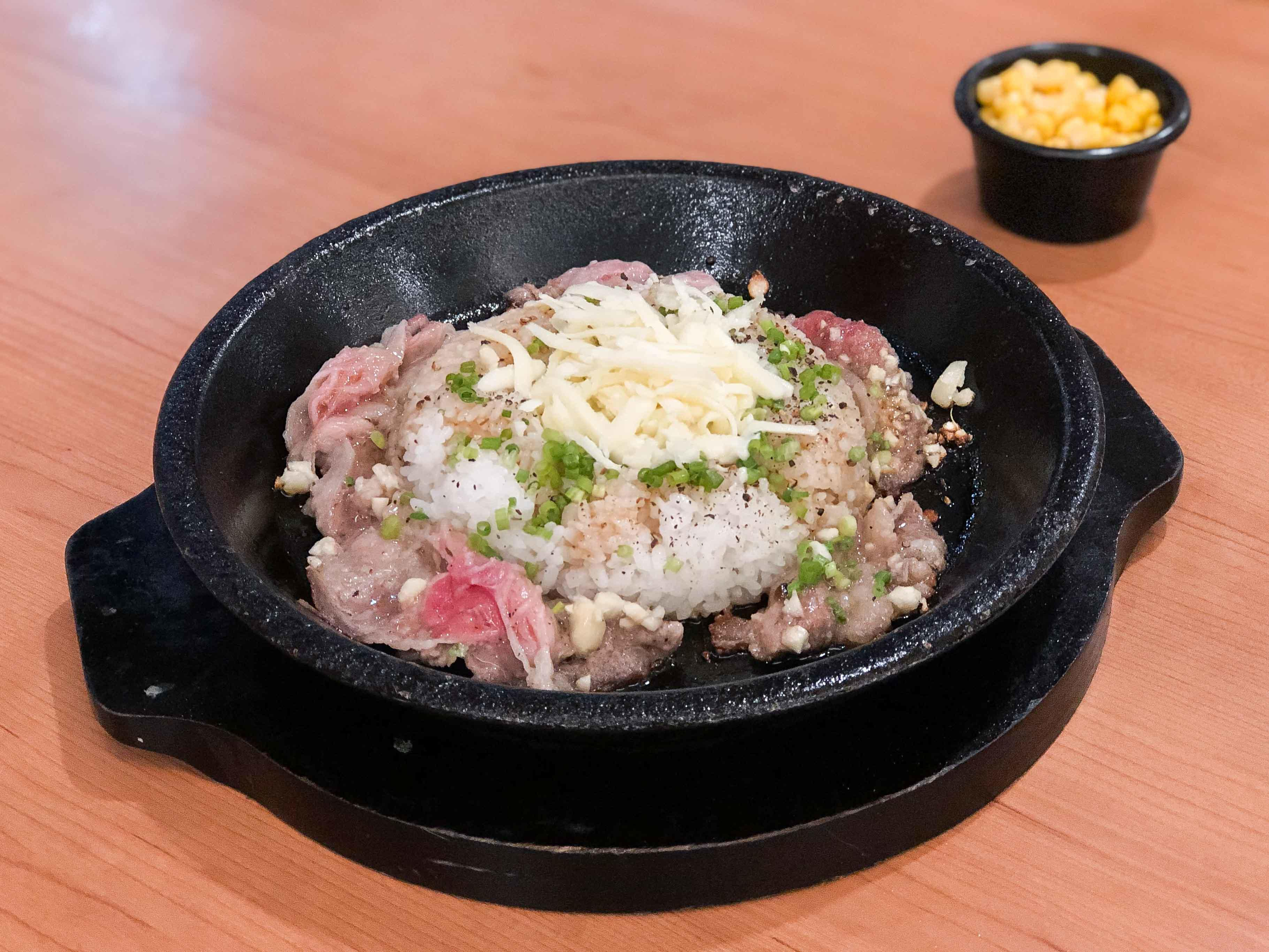 Garlic Beef Pepper Rice