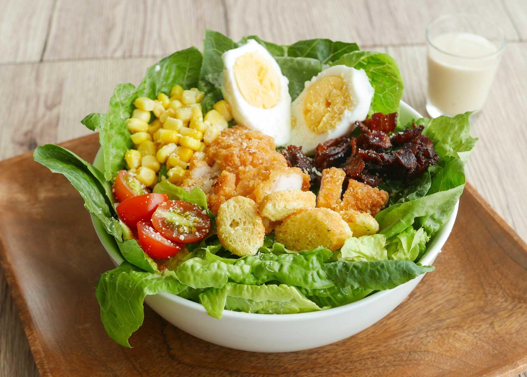 Cowboy Crispy Chicken Salad