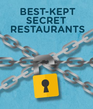 Best-Kept Secret Restaurants