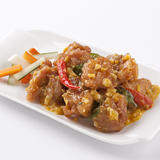 Salted Egg Chinese Style Fried Chicken